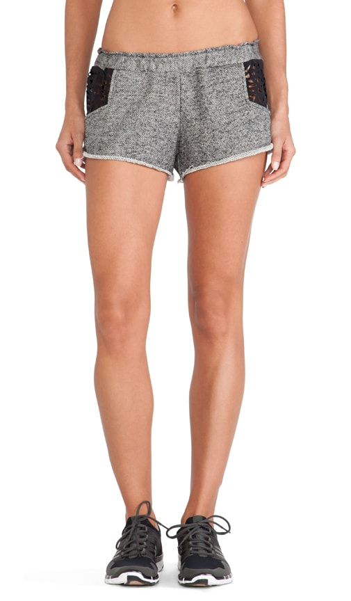 Fit Lasercut Running Short