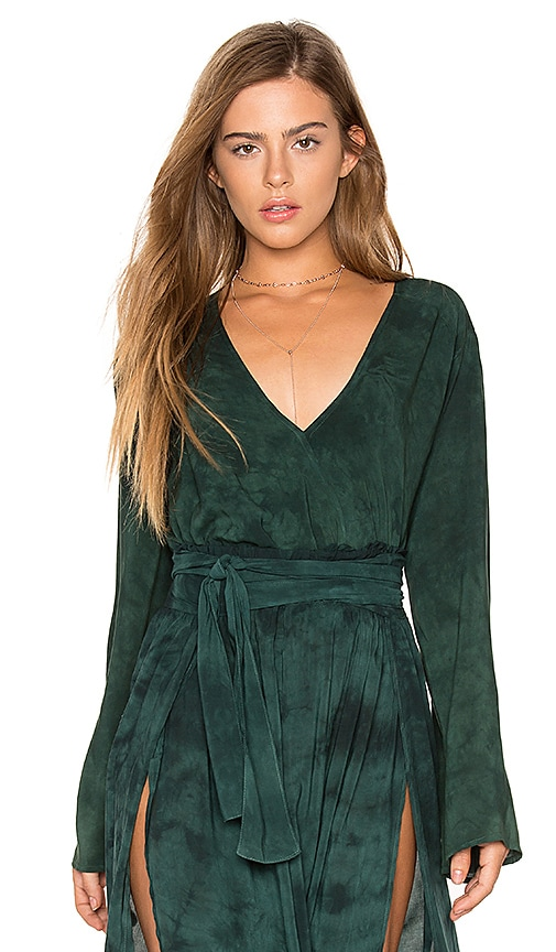 Blue Life Hayley Blouse in Green