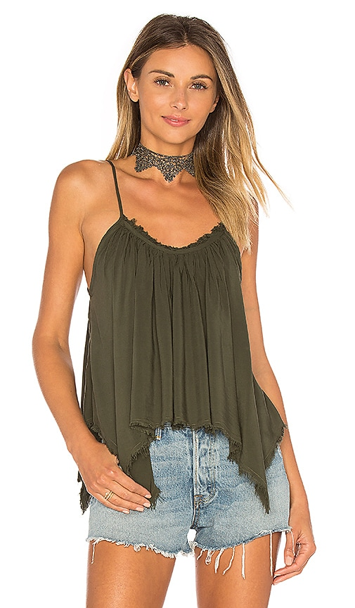 Blue Life Thalia Cami in Green