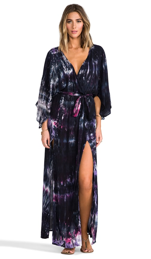 Angel Sleeve Slits Maxi