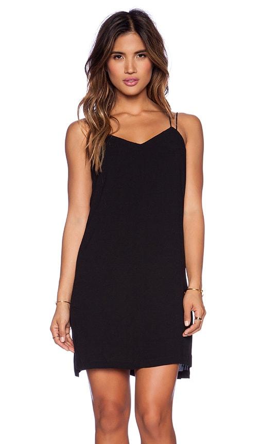 Bella Luxx Cami Slip Dress in Black