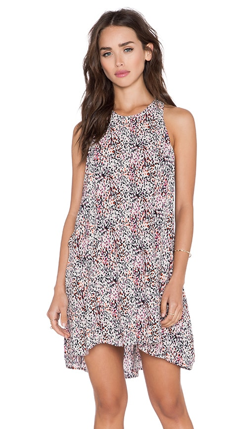 Bella Luxx Paneled Shift Dress in Adelaide Print