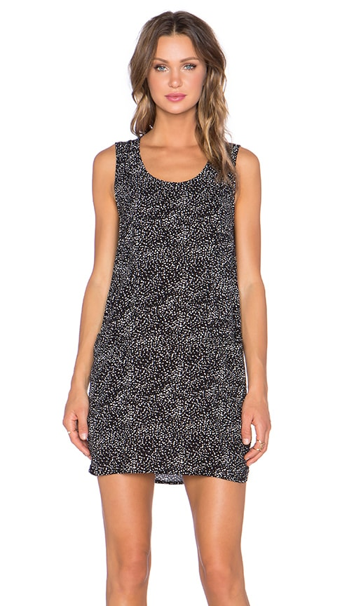 Bella Luxx Sleeveless Shift Dress in Malmo Print