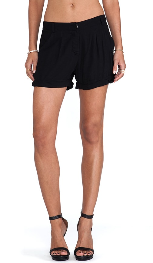 Pleated Trouser Short
