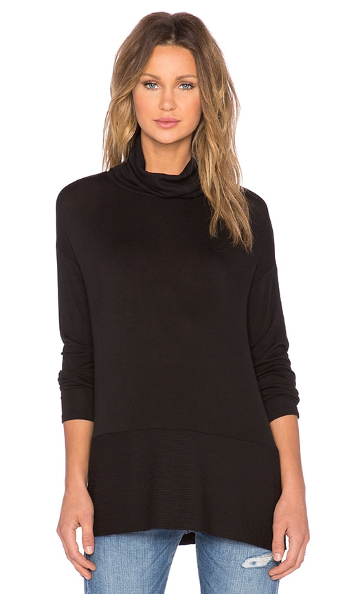 Bella Luxx Turtleneck Sweater in Black