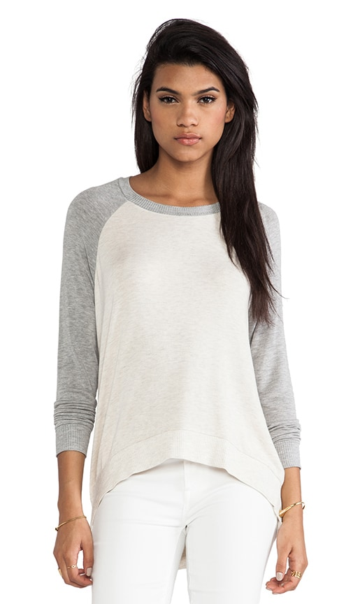 High-Low Pullover Sweater