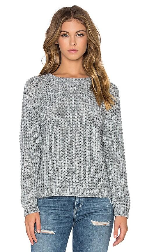 Waffle Shrunken Sweater