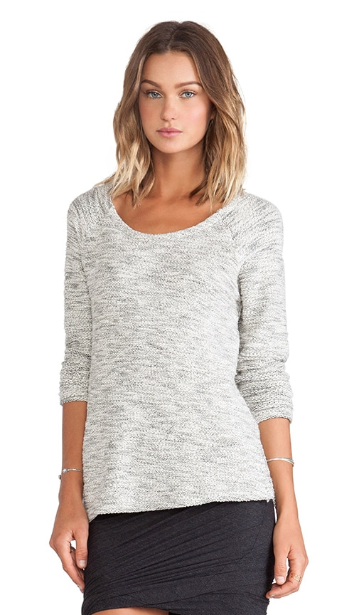 Bella Luxx Relaxed Raglan Sweater in Natural