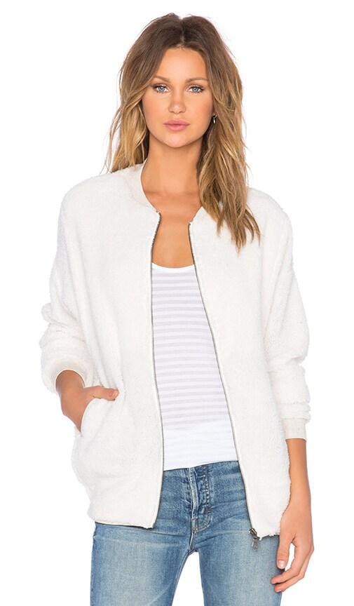 Bella Luxx Sherpa Jacket in Cream