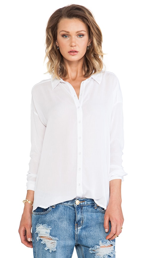 Oversized Button Up Top