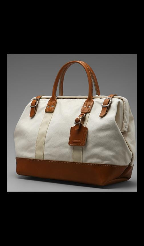 No. 165 Medium Carryall Natural With Tan