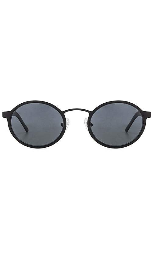 BLYSZAK Style II Metal Sunglasses in Black