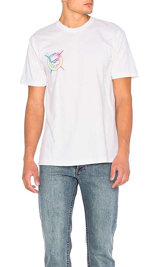 Brothers Marshall Boardhead Gradient Tee in White