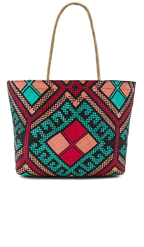 Banago Malaya Tote in Turquoise