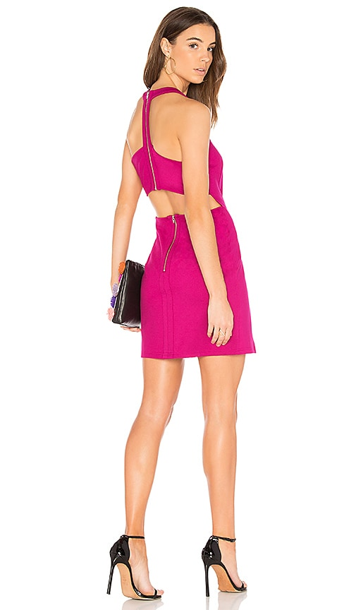 Bobi BLACK Bodycon Dress in Red