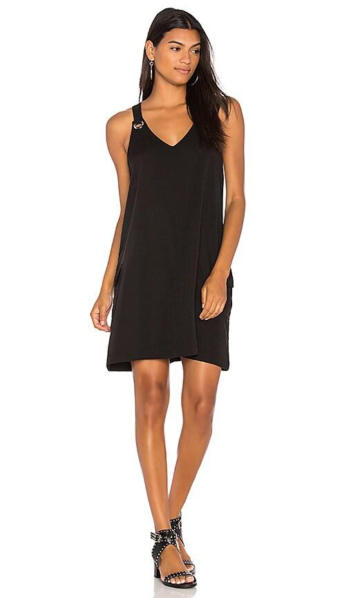 Bobi BLACK Grommet Tank Dress in Black