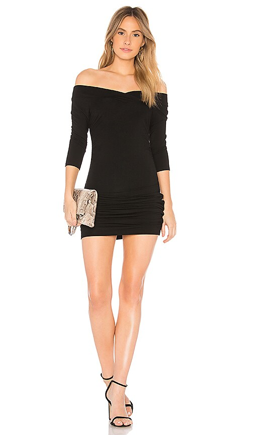 Bobi BLACK Luxe Dress in Black
