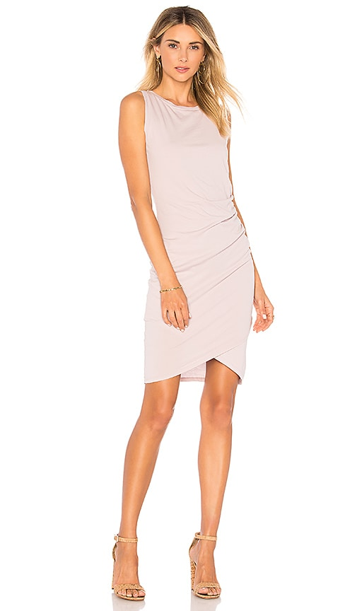 Bobi Supreme Jersey Dress in Lavender