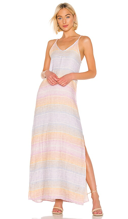 ROBE MAXI SUNSET LINEN