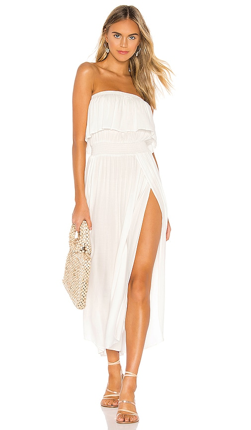 Beach Crepe Maxi Dress