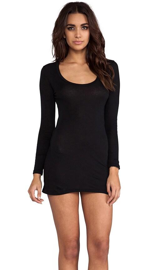 Light Weight Jersey Long Sleeve Dress