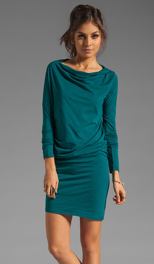 Long Sleeve Modal Jersey Dress