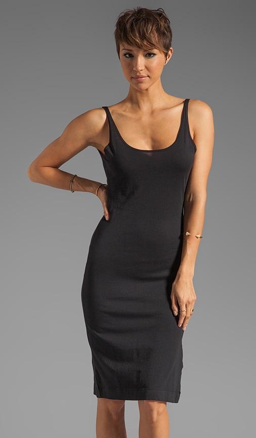 Modal Jersey V Back Tank Dress