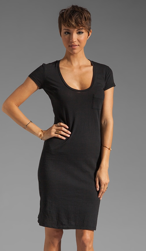 Light Weight Jersey Midi Dress