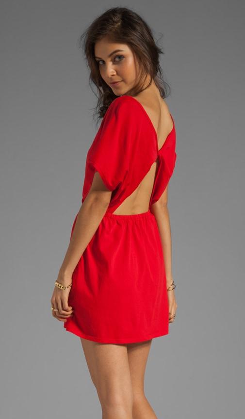 Supreme Jersey Open Back Mini Dress