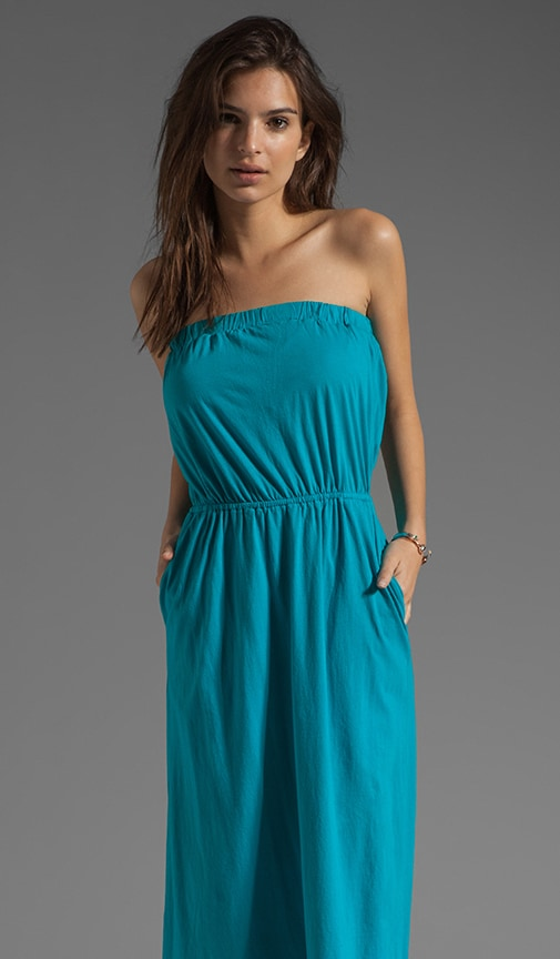 Supreme Jersey Strapless Maxi Dress