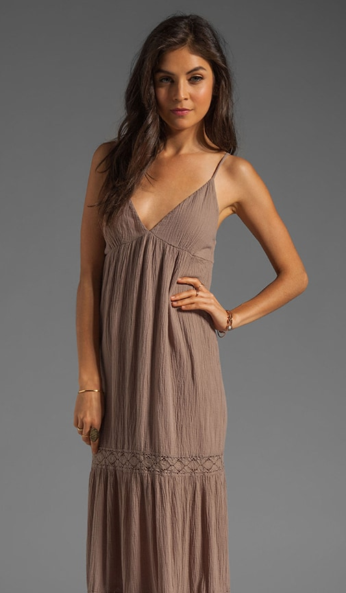 Gauze Tiered Maxi Dress