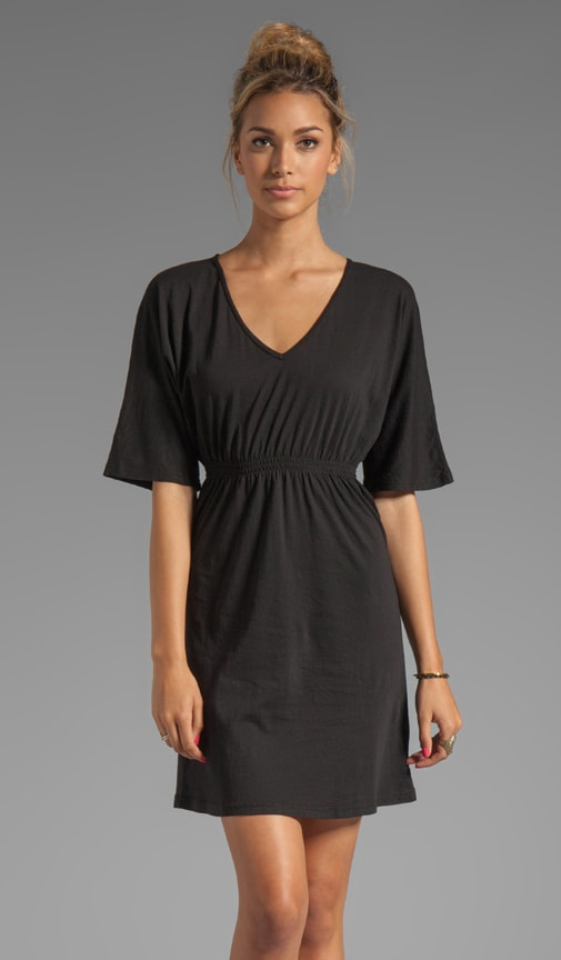 Light Weight Jersey Short Sleeve Dress