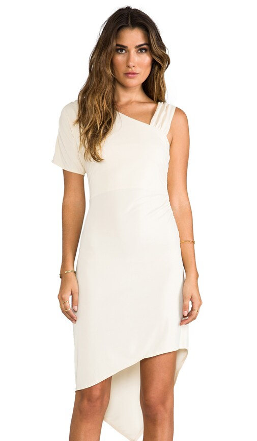 Matte Jersey One Shoulder Dress