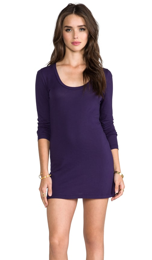 Light Weight Long Sleeve Mini Dress