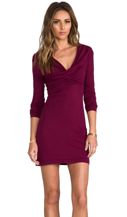 Light Weight Jersey Long Sleeve Dress