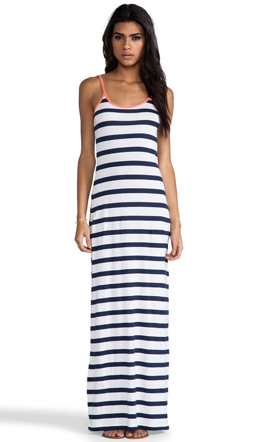 Light Weight Jersey Stripe Maxi Tank Dress