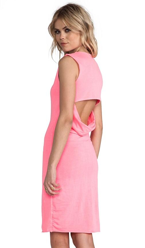 Jersey Open Back Dress