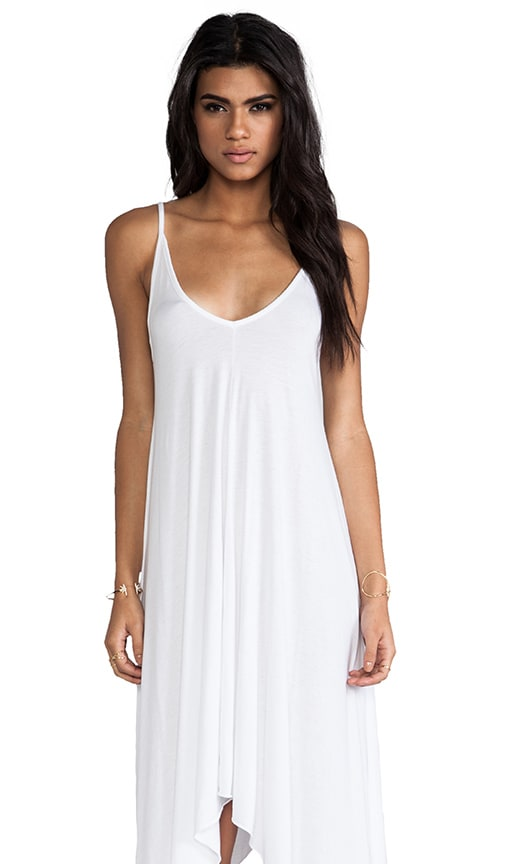 Jersey Mini Asymmetrical Dress
