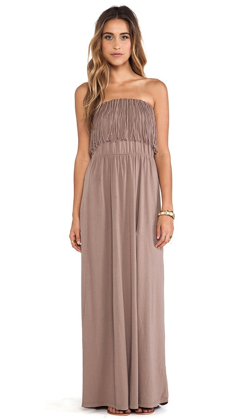 Light Weight Jersey Strapless Dress