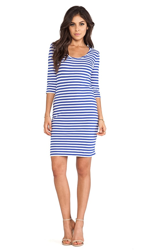 Light Weight Jersey Stripe Dress