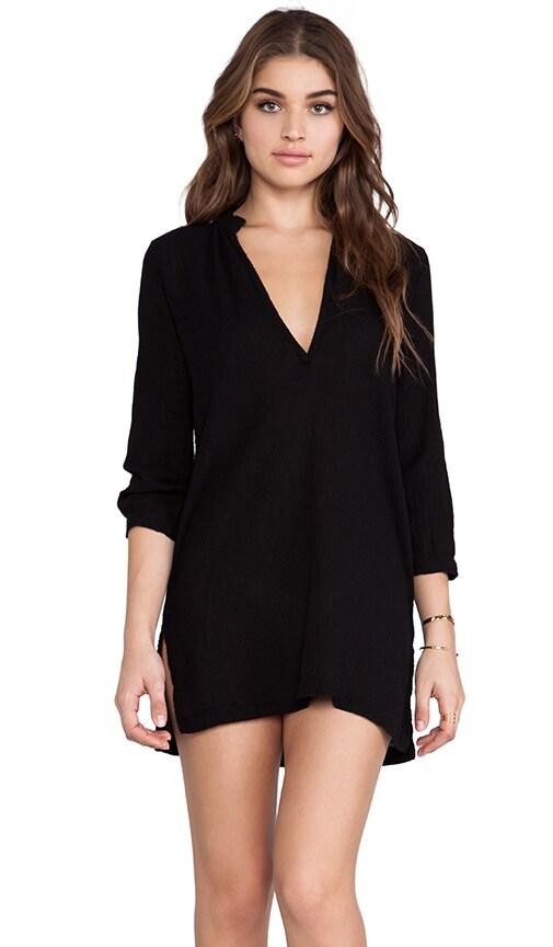 Bobi Gauze Tunic in Black