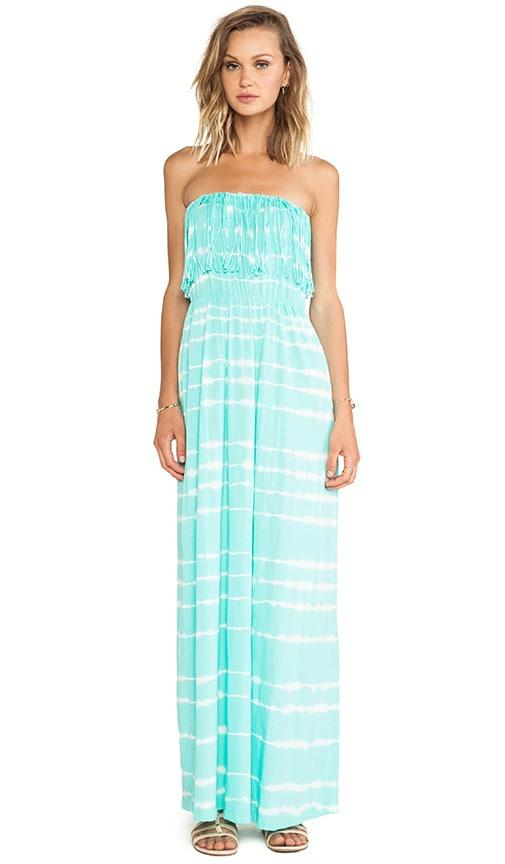 Light Weight Jersey Strapless Maxi Dress