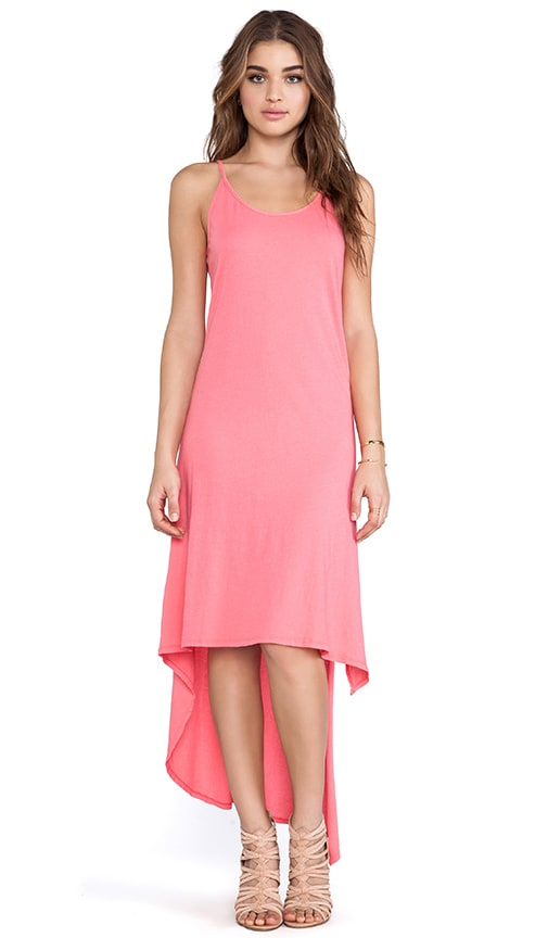 Light Weight Jersey Asymmetric Tank Dress