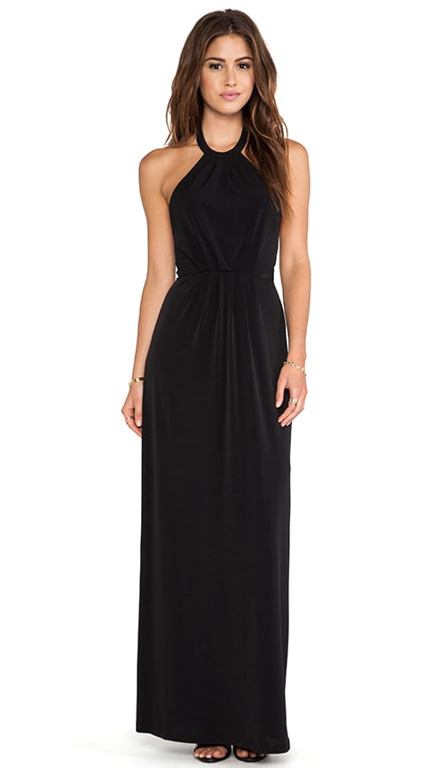 BLACK LABEL Maxi Halter Dress