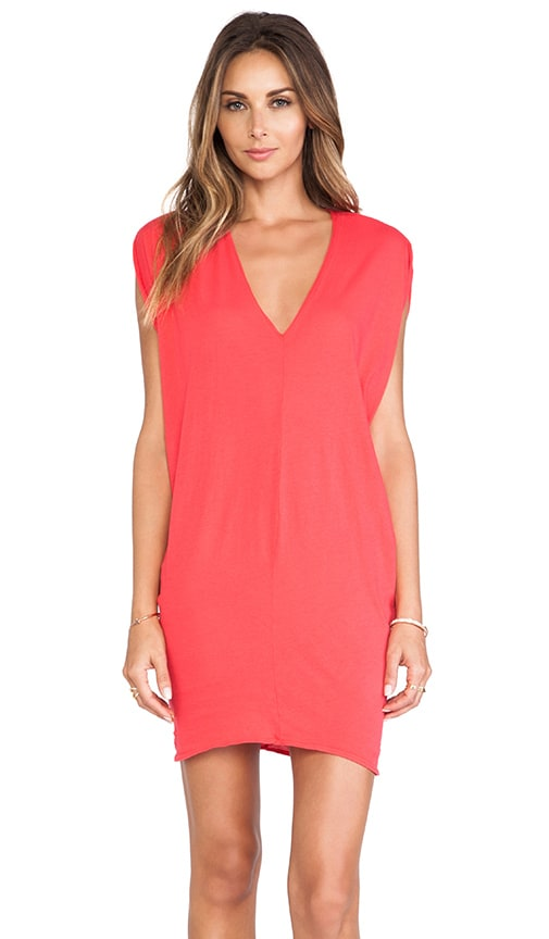 Light Weight Jersey Batwing Dress