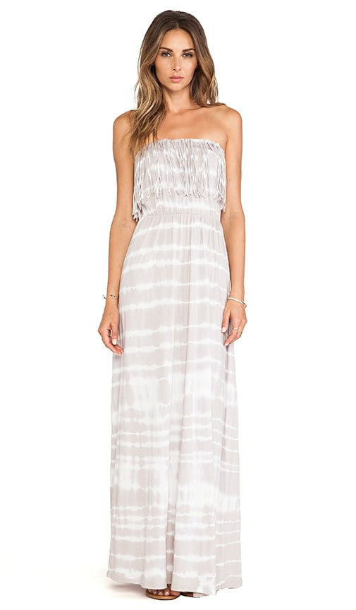 Light Weight Jersey Strapless Maxi Dress