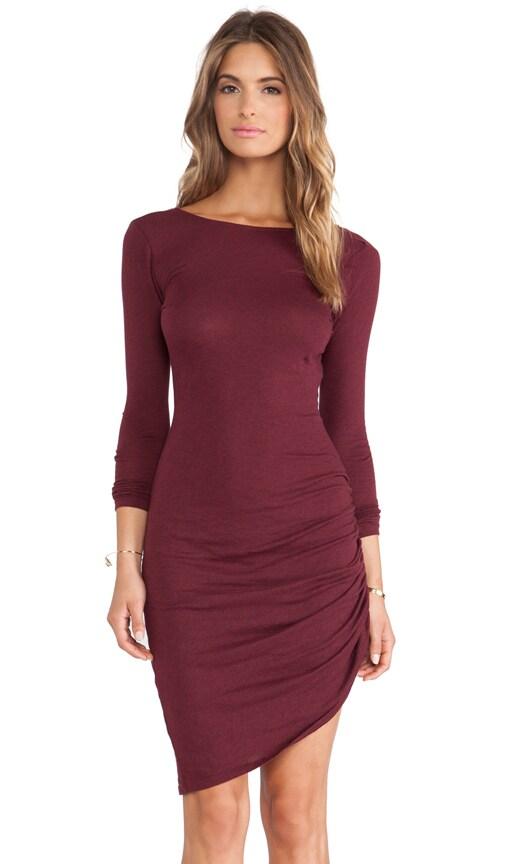Light Weight Jersey Asymmetrical Dress