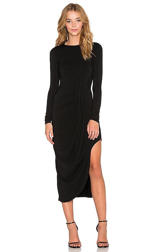 Jersey Layered Asymmetrical Dress