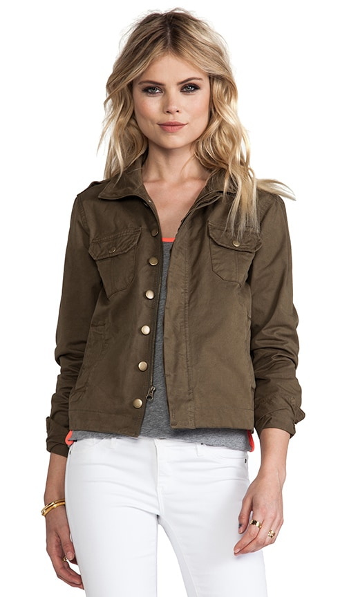 Military Button Up Jacket