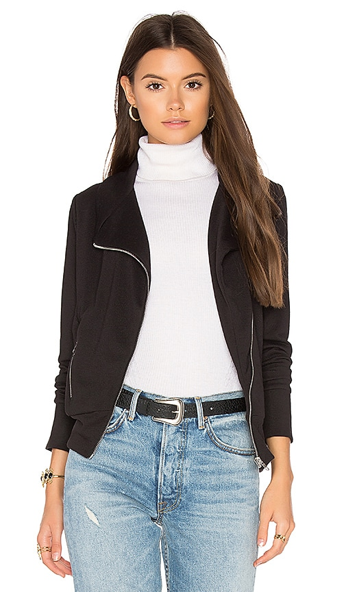 Bobi BLACK Moto Jacket in Black